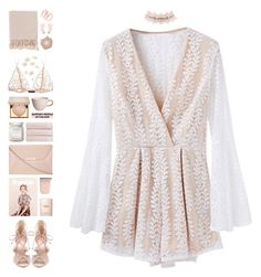 """""""[ add a bass, some guitar ]"""" by pastelmalfoy ❤ liked on Polyvore featuring Charlotte Russe, Schutz, Dorothy Perkins, Hippie Dreamers, Michael Kors, Estée Lauder, Urban Nature Culture, Christy, Stila and Laura Mercier"""