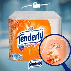 La morbidezza colorata e profumata di #Tenderly, ora la trovate anche in formato salvaspazio. Cercatela negli ipermercati più vicini a voi.