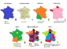 7 ways to divide France