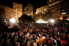 Occupy Movement in Oakland, 2011