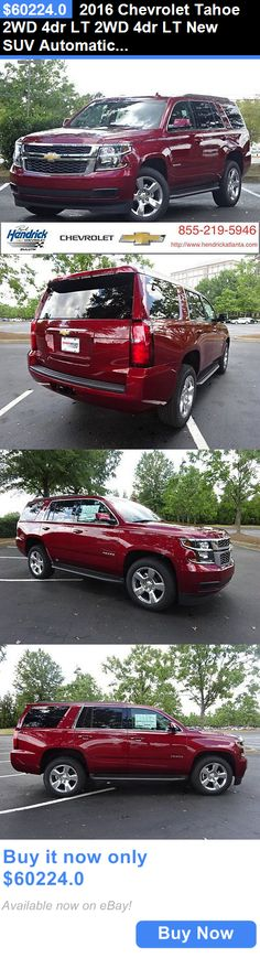 SUVs: 2016 Chevrolet Tahoe 2Wd 4Dr Lt 2Wd 4Dr Lt New Suv Automatic Siren Red Tintcoat BUY IT NOW ONLY: $60224.0