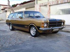 1978 Chevrolet Opala Caravan S - a truly ugly car