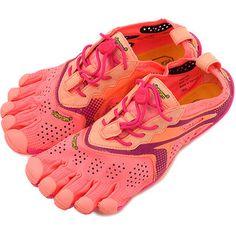 SHOETIME | Rakuten Global Market: Vibram FiveFingers Vibram five fingers women's V-Run Pink/Red Vibram five fingers five finger shoes barefoot women (16W3106)