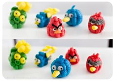 Angry Birds made from PlayMais, the perfect arts and craft kit for kids! Arts And Crafts Kits, Craft Kits For Kids, Crafts For Kids, Diy Crafts, Angry Birds, Camping Crafts, Craft Activities, Projects To Try, Creations