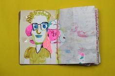 sketchbook project by Diana Koehne