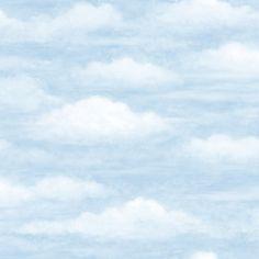 CT47602 Ocean Clouds Wallpaper - Coastal Waters Vol II by Belair Studios