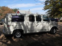 This is a donated '78 Ford van that we fixed up and repainted for Haiti Lifeline Ministries.