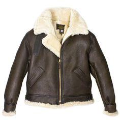 Genuine B-3 Bomber Leather Jacket