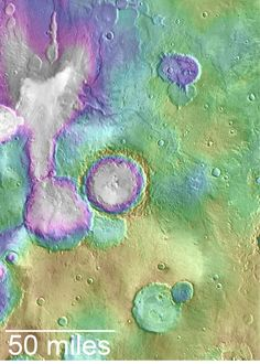 2016-09-16 HUGE MARS LAKES FORMED MUCH MORE RECENTLY THAN THOUGHT. Mars may have been able to support life for much longer than scientists had thought.