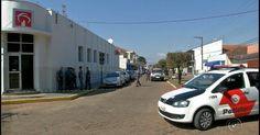 Câmeras registram ação de grupo que assaltou banco em Manduri