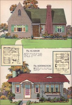 1927 radford alabam addington english cottage and traditional cottage styles tiny house design inspiration - English Cottage House Plans