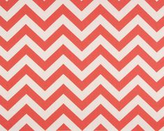 Items similar to Chevron Fabric Coral, Coral and White Zig Zag Fabric, Premier Prints Fabric, Decorative Drapery/Upholstery Fabric Yardage, Width on Etsy Coral Fabric, Chevron Fabric, Orange Fabric, Chevron Table Runners, Chevron Bedding, Chevron Valance, Coral Chevron, Aqua, Premier Prints