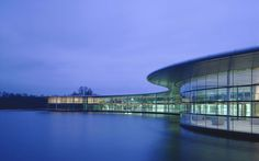 McLaren Technology CentreinWoking, UK (1998-2004) / designed by Foster & Partners
