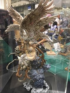 WonFes17 Fantasy Women, Fantasy Art, Bjd, Miniature Figurines, 3d Artwork, Anime Figures, Character Drawing, Stuffing, Mythical Creatures
