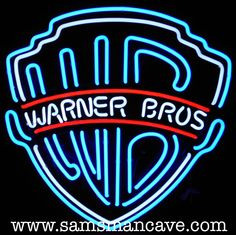 Warner Brothers Neon - Sam's Man Cave