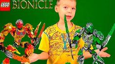 LEGO BIONICLE ВСЕ СЕРИИ ОБЪЕДИНИТЕЛЬ ВОДЫ И ДЖУНГЛЕЙ СТРАЖ ЛЬДА ОБЗОР ИГ...