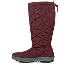 """Bogs Women's Snowday Tall 14"""" Waterproof Winter Boots (Wine) Warm Snow Boots, Winter Fashion Boots, Waterproof Winter Boots, Thing 1, Luxury Shoes, Open Toe, Hiking Boots, Wine, Accessories"""