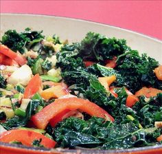 pretty good for kale.