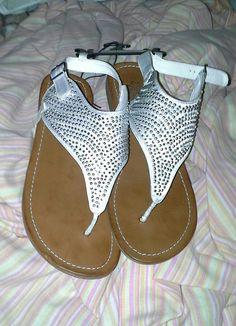 Rhinestone sandals :-)