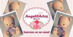 Ursinho Biscuit - AngellArtes