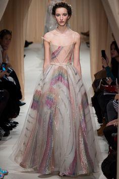 Valentino Spring 2015 Couture Fashion Show - Clémentine Deraedt (Supreme)