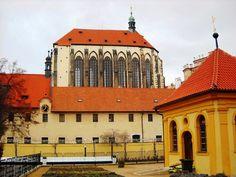 Kostel Panny Marie Sněžné u Františkánské zahrady - Praha - Česko