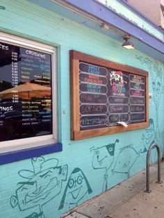 Colorful ice cream shop on South Congress, Austin. Photo by Bethany Chase