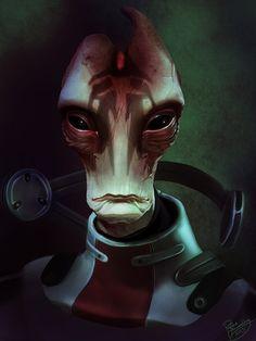 Mass Effect 1, Mass Effect Universe, Aliens, Mordin Solus, Science Fiction, Thane Krios, Mass Effect Characters, Pulp, Alien Art