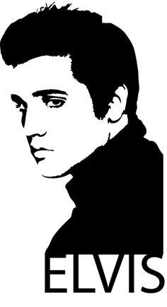 Elvis Silhouette Clip Art - Bing Images Like & Repin. Noelito Flow. Noel…