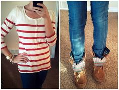 moccasin boots pinterest | ... : Target, wide leg trousers: H, shoes: F21, necklace: gifted (H