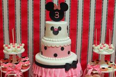 Minnie Mouse Birthday Party Ideas | Photo 11 of 37 | Catch My Party