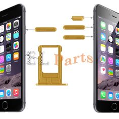 Apple iPhone 6 Card Tray & Volume Control Key & Screen  Lock Key & Mute Switch Vibrator Key Replacement Kit(Gold) http://www.laimarket.com/apple-iphone-6-card-tray-volume-control-key-screen-lock-key-mute-switch-vibrator-key-replacement-kitgold-p-3097.html