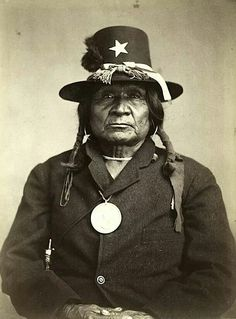 Toshaway.  Comanche. 1872.  Photo by William S. Soule. Source - Heard Museum.