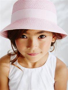 9ef39bbd7b10 Chapeau de cérémonie fille FUCHSIA+ROSE POUDRE+BLANC - vertbaudet enfant  Tenue Bapteme,
