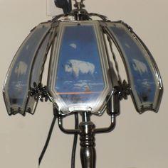 White Buffalo Touch Lamp