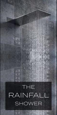 Diy Discover The Rainfall Showerhead - diy bathroom decor Bathroom Design Luxury Modern Luxury Bathroom Luxurious Bathrooms Luxury Shower Luxury Spa Bathroom Designs Rainfall Shower Dream Bathrooms Master Bathrooms Dream Bathrooms, Beautiful Bathrooms, Luxurious Bathrooms, Master Bathrooms, Black Bathrooms, Modern Bathrooms, Rainfall Shower, Bathroom Design Luxury, Bathroom Inspiration