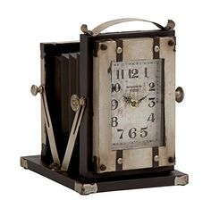 Deco 79 Metal Table Clock 8 by 10Inch -- Find out more about the great product at the image link.