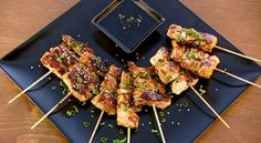 Chicken Yakitori (one of the husband's favorites) - Primal Grill with Steven Raichlen
