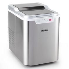 Della 048 Gm 48226 Portable Ice Maker Easy Touch Buttons Yield Up