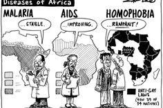 Zapiro: Africa's anti-gay laws including the Super Homophobic Eagles. FIFA should step in on this.