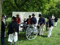 British Cannon Crew - War of 1812 Re-enactment, Stoney Creek, Ontario | Flickr - Photo Sharing!