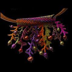 Tropical Garden Jelly Fish Pendant