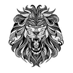 3 Animal Portraits by Andreas Preis, via Behance