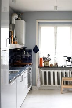 Eclectic Swedish style in the family home