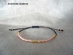 NOUVEAUTÉ Bracelet d'amitié minimaliste réglable en perles Bracelets, Jewelry, Minimalist, Beads, Bangles, Jewellery Making, Jewels, Jewlery, Bracelet