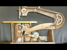 Mikiono's homemade scrollsaw
