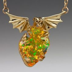 Mirage - Mexican Fire Opal Dragon