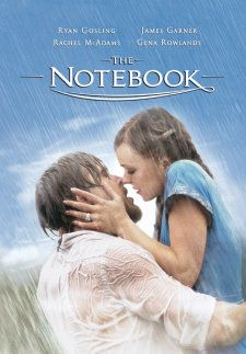 The Notebook.  (Romance, Drama) An elderly man reading to his companion in a nursing home tells the story of two lovers separated by social standing and World War II.