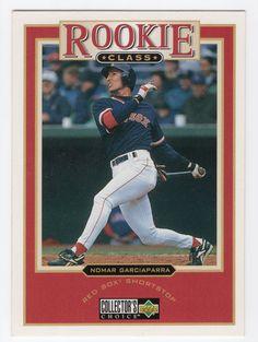8c7b7b3fec Items similar to Nomar Garciaparra 1997 Upper Deck Collector's Choice  Rookie Class Baseball Card #25 on Etsy