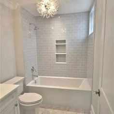 Open shelves can function as both storage and display screen to display your vibrant towels and other bath essentials. They will also eliminate the bulk that cabinets provide your already small restroom.